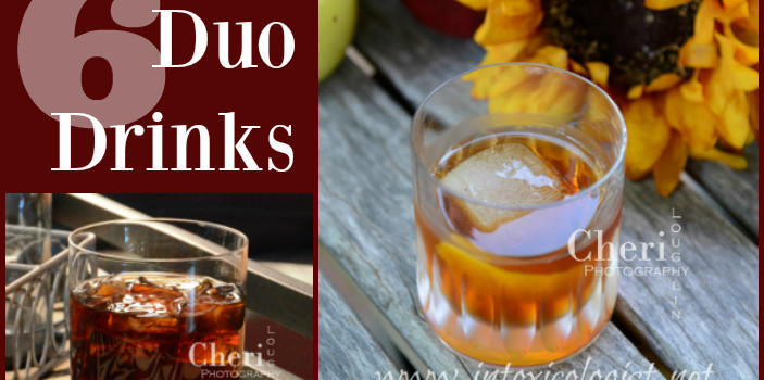 6 Easy Two Ingredient Duo Drinks