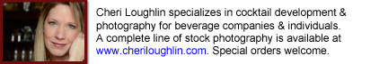 Cheri Loughlin Beverage Consultant & Photography Services