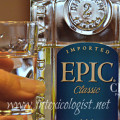 "EPIC Vodka is wheat based and triple distilled. This ""here and now"" vodka embraces moments and memories in life. Enjoy where you are here and now."