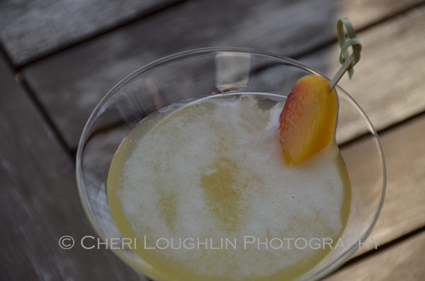 The Groovy Red Rock Colada Cocktail is a no blender necessary style Pina Colada cocktail... EASY! – recipe and photo by Mixologist Cheri Loughlin, The Intoxicologist