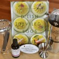 Liquid Kitchen Cocktail Kit with Golden Era Cocktail Bitters & D'Lish Deviled Eggs by Kathy Casey - photo by Cheri Loughlin, The Intoxicologist
