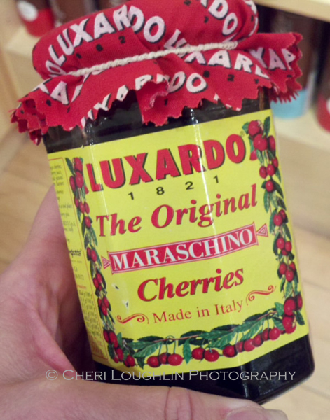 Luxardo Maraschino Cherries, $20 - photo by Cheri Loughlin, The Intoxicologist