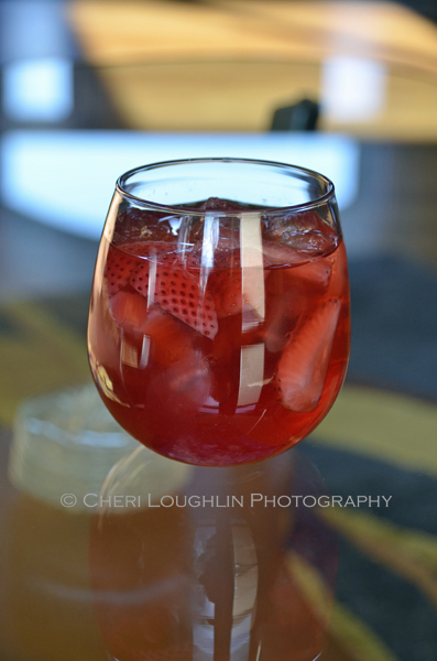 Wild Strawberry Moscato White Wine Sangria
