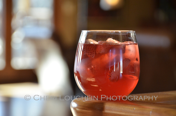 Wild Strawberry Moscato White Wine Sangria recipe was created using an easy basic Sangria recipe to start and fresh quality ingredients from my kitchen – recipe and photo by Mixologist Cheri Loughlin, The Intoxicologist