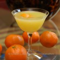 Harvey's Perfect cocktail variation on the Harvey Wallbanger classic cocktail. Served straight up with larger vodka and Galliano ratio to orange juice and dash of classic bitters. - recipe and photo by Mixologist Cheri Loughlin