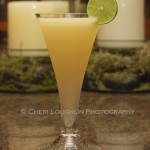 Passionate Affair Cocktail is a blend or Rangpur Gin, Noilly Prat Dry Vermouth, Key Lime and Passion Fruit Juices. Citrus and sweet balance nicely in this terrific spring to summer sipper. - r</a/></a><img class=