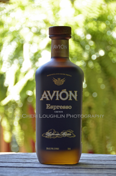 Avion Espresso Liqueur 010 - Avion Espresso has deep espresso flavor, light sweetness rather than cloying sweetness and clean dry finish that hint at its silver tequila roots. 70 proof / 35% ABV –Retails for approximately $24.99 for 750ml bottle. Enjoy chilled to sip or shoot as a shot, on the rocks or included in favorite cocktails. - photo by Mixologist Cheri Loughlin, The Intoxicologist