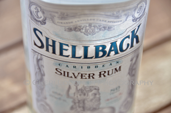 Shellback Silver Rum - photo by Mixologist Cheri Loughlin, The Intoxicologist