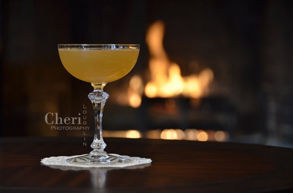 Apricot Bonfire Fall Cocktail takes the classic Daiquiri from summer to autumn by using dark rum and apricot flavors to warm the palate. {photo credit: Mixologist Cheri Loughlin, The Intoxicologist www.intoxicologist.net}