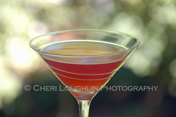 Italian Cosmo 007 is a variation of popular Cosmopolitan Contemporary Cocktails - The Italian Cosmo uses Amaretto and Tuaca Liqueurs in addition to some of the more traditional Cosmo ingredients. - recipe adaption and photo credit: Mixologist Cheri Loughlin, The Intoxicologist {http://intoxicologist.net}