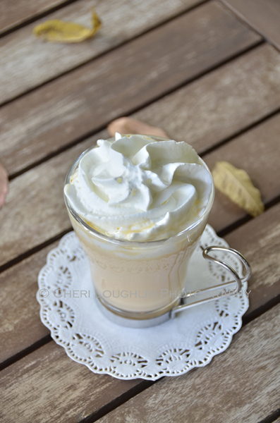 Pumpkin Pie White Hot Chocolate is also wonderful with vanilla whipped ...