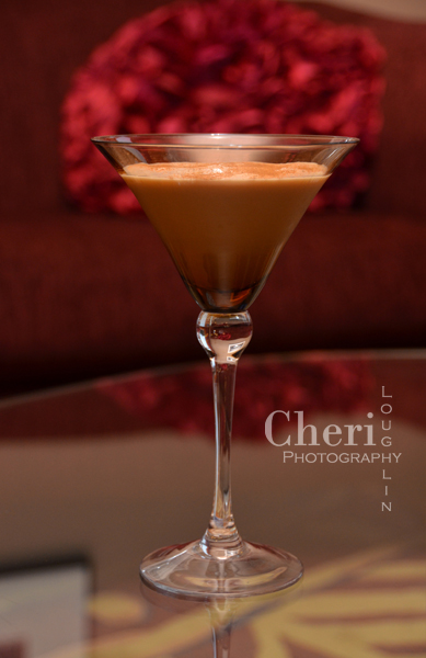 Chocolate Snowflake Martini