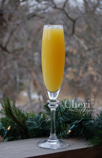 Beach 75 is a happy medium combination recipe of the Mimosa and Buck's Fizz classic champagne cocktails. This variation weighs in at 6 ounces, 75 calories. Full size cocktail, full flavor.