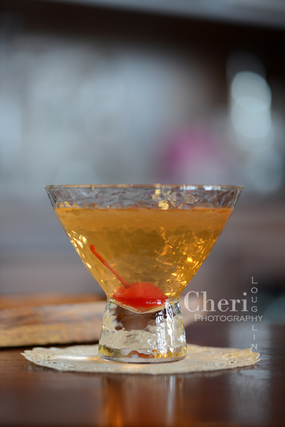 Pear Flair with sake, dry vermouth, pear brandy and triple sec – from the book Sake a Modern Guide by Beau Timken and Sara Deseran {photo credit Cheri Loughlin}