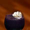 Purple Paradise - Spiced Rum, Marshmallow Cream, Half & Half, Blueberries, Cinnamon Spice