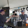 West O Beer – West Okoboji, Iowa Smoked Red, American Amber / Red Ale, 6.5% This was by far my favorite beer of Omaha Beer Fest. The dark flamed red color carries through to the deep flavor structure of the beer. It's full bodied, smoky with a bit of nut, dark chocolate and caramel rolled into one. The hint of espresso sharpness is just enough to wave and say hello, mix and mingle and balance all the flavors in this incredibly delicious beer. Smoked Red is a wish list must have!