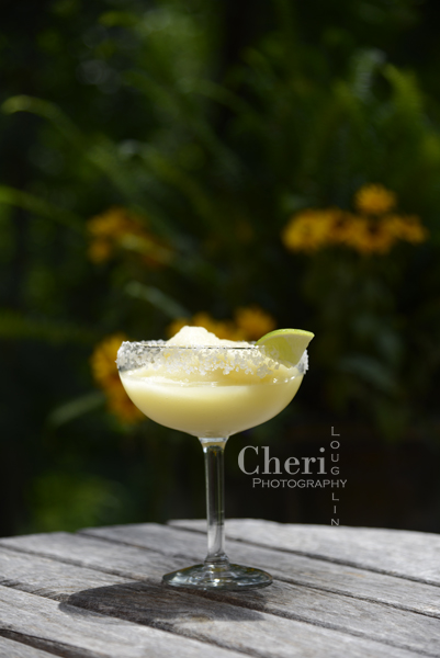 Frozen Virgin Margarita – recipe by Cheri Loughlin, The Intoxicologist 3 ounces Frozen Limeade 2 ounces Orange Juice 3/4 ounce Fresh Lime Juice 1 cup of Ice Salt & Lime Wedge