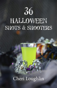 36 Halloween Shots & Shooters eBook contains 36 original, adapted and popular shots ideal for scaring up a devilish Halloween party. A full color photo of the exact drink is included with every recipe.  Photography and text: Cheri Loughlin Design: Concierge Marketing