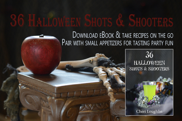 36 Halloween Shots & Shooters - Shots are miniature tasters to pair with small bite appetizers. Download eBook and take recipes on the go.