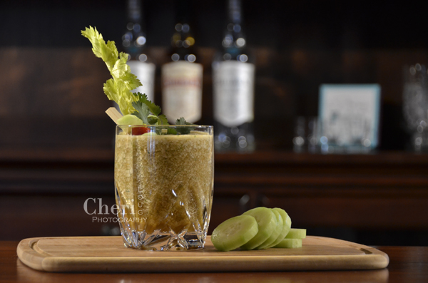 Mary's Morning After Green Bloody Mary | The Intoxicologist