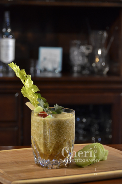 Mary's Morning After Green Bloody Mary – Get your green on!