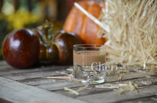 Pumpkin Pie to Die for pairs wonderfully with Pie Crust Cookies sprinkled with cinnamon and sugar - 36 Halloween Shots & Shooters by Cheri Loughlin, The Intoxicologist LLC
