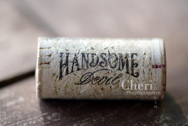 Handsome Devil wine cork - Even wines are gender bias… delicate wines are referred to as feminine while heartier, more robust wines are referred to as masculine.