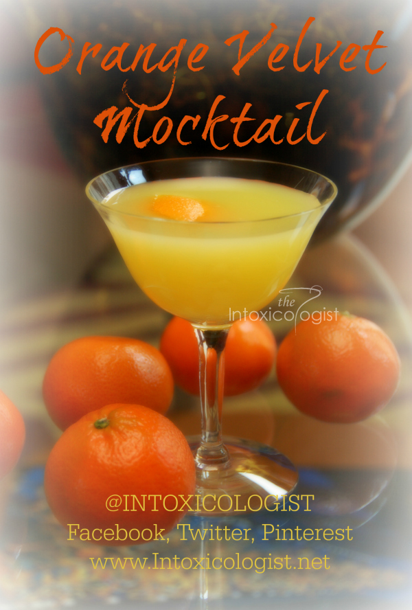 Orange Velvet Mocktail