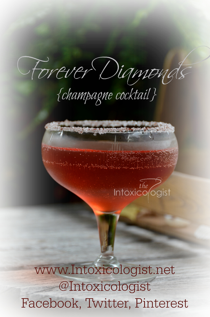 Forever Diamonds Champagne Cocktail