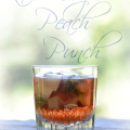 The Kaleidoscope Peach Punch is lightly spiced with great peach flavor. The fruit ice cubes add a splash of color that kind of reminds me of fall leaves as they change colors. The ice melts in the drink while sipping for terrific color and flavor.