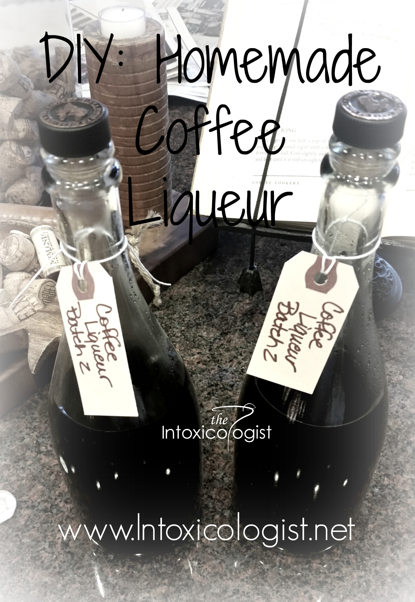 DIY Homemade Coffee Liqueur Recipe | The Intoxicologist