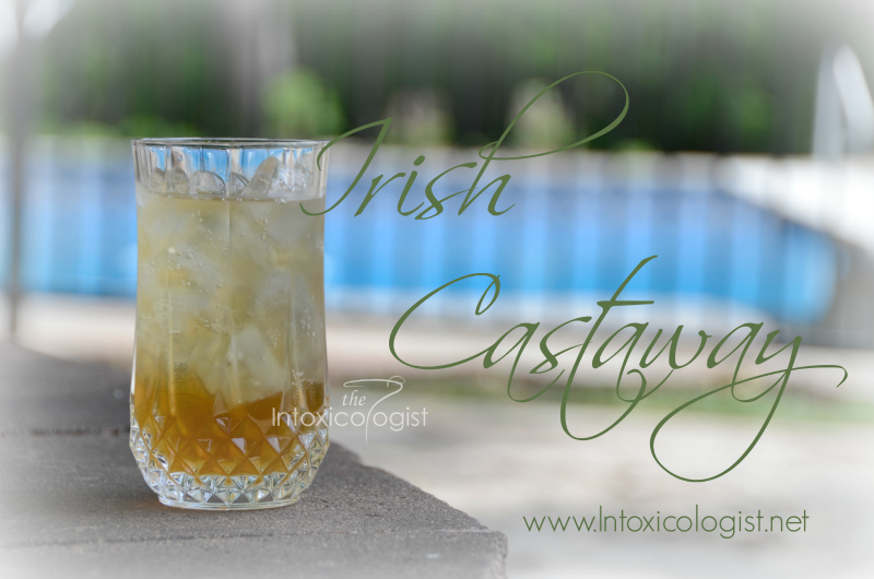 Irish Castaway - Spiced rum and Irish whiskey combine to give this drink deep, lush flavor with subtle spice. Vanilla is prevalent lending to a rich feel as the drink rolls over the tongue.