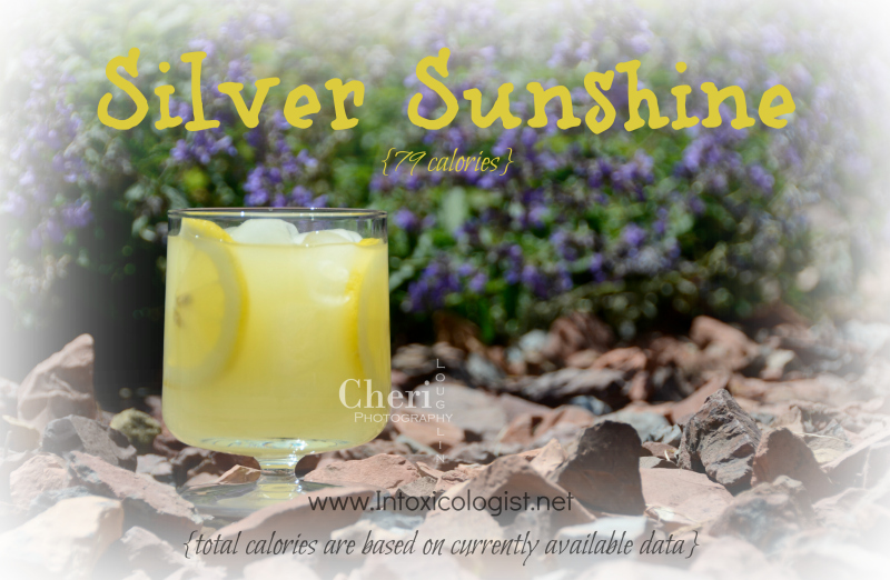 Silver Sunshine low calorie cocktail: 79 calories - www.intoxicologist.net