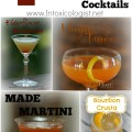 4 National Bourbon Heritage Month Cocktails: Magic Trace, Made Martini, Elderflower Manhattan, Bourbon Crusta