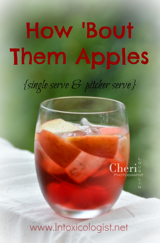 How 'Bout Them Apples Punch & 9 ideas for better tailgates.
