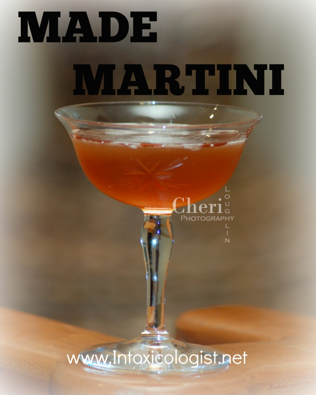 Made Martini: September is National Bourbon Month. You know what to do.