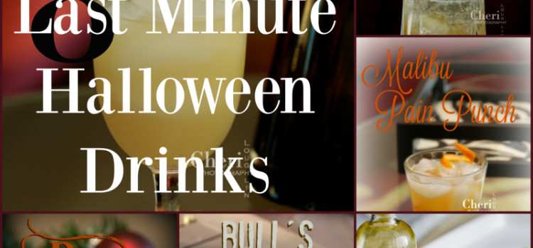 8 Last Minute Halloween Drinks