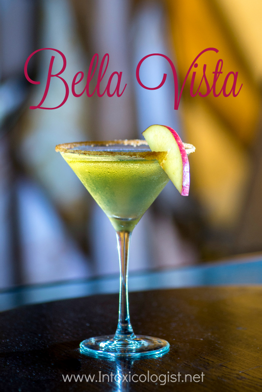 Bella Vista: One of 8 seasonal cocktail recipes to add inner warmth to your fall happy hour.