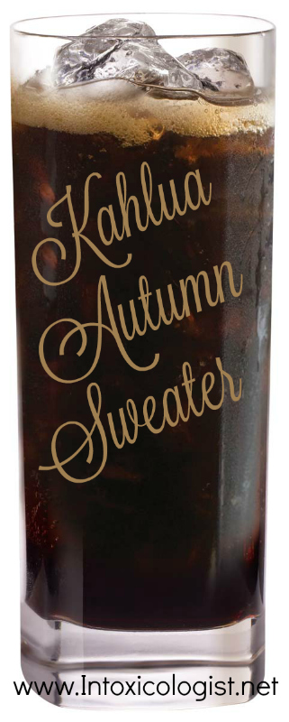 Kahlua Autumn Sweater: One of 8 seasonal cocktail recipes to add inner warmth to your fall happy hour.