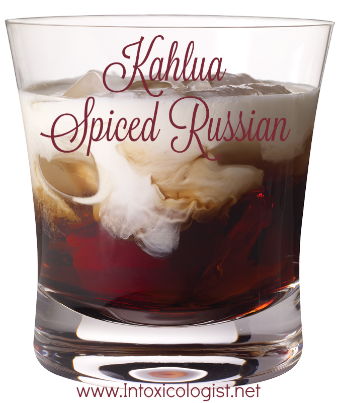 Kahlua Spiced Russian: One of 8 seasonal cocktail recipes to add inner warmth to your fall happy hour.