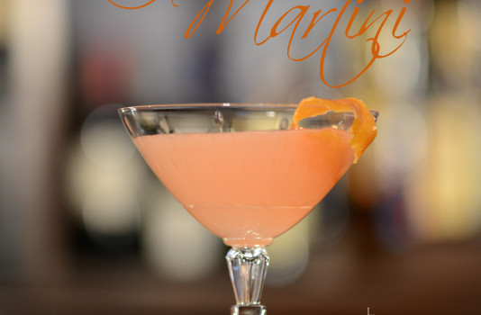 Rubyfruit Martini