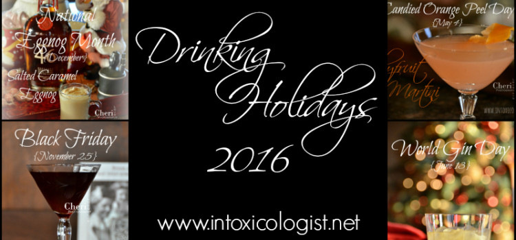 Drinking Holidays 2016