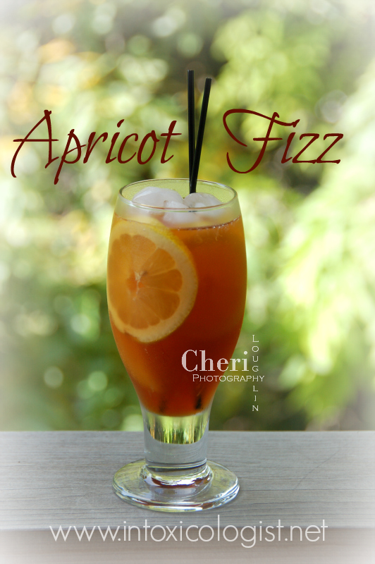 Keeping Tasty Cocktail Simple: Apricot Fizz combines apricot brandy and fresh juice for a refreshingly light long drink.