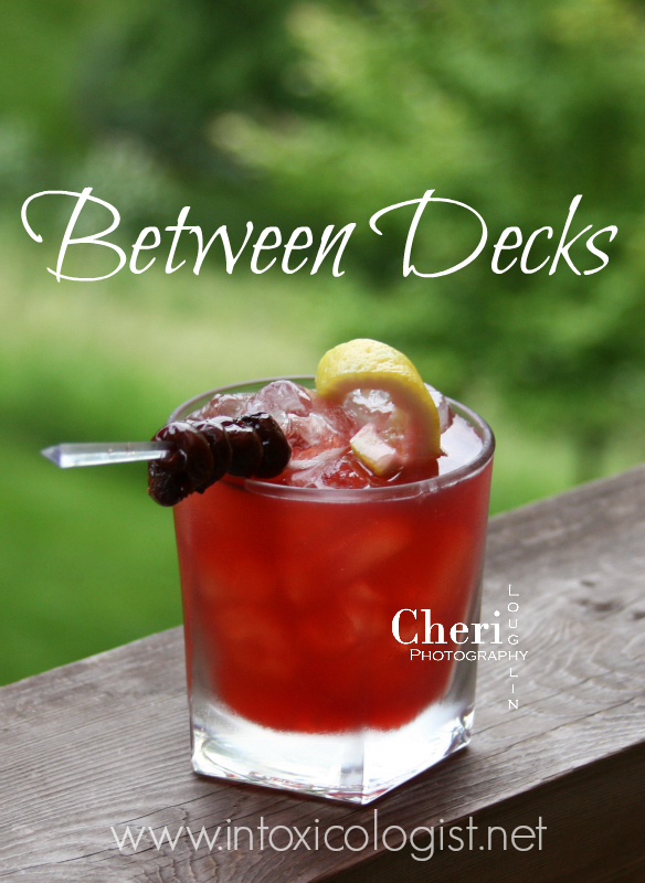 Keeping Tasty Cocktail Simple: Between Decks is full of fresh juice flavor paired with gin.