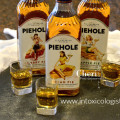 Piehole Whiskey recreates the flavors of popular pies in liquid form with the flavors of pecan pie, cherry pie and apple pie and some pretty awesome pin-up artwork on the label.