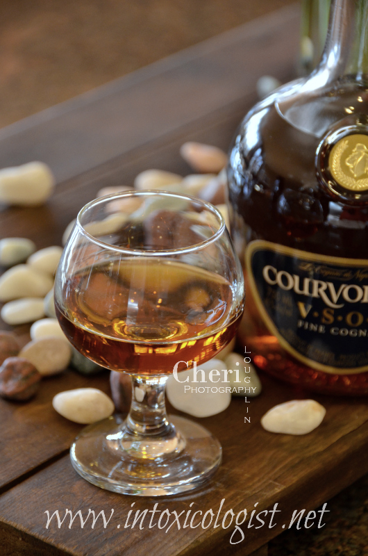 Review: Courvoisier Cognac VSOP contains nutty chocolate and coffee flavors. There are delicious dried flavors with a little vanilla in the finish.