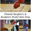 Pinnacle Raspberry Vodka is lightly sweetened with hint of citrus making it ideal for the Raspberry Peach Citrus Drop.
