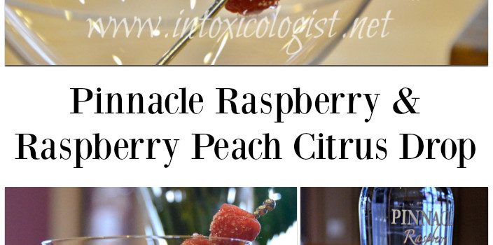 Pinnacle Raspberry with Raspberry Peach Citrus Drop