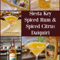 Siesta Key Spiced Rum uses natural ground spices and honey to enhance the flavor of this rum. It's completely evident in the flavor that Siesta Key Spiced Rum is crafted with care. Spiced Citrus Daiquiri recipe included.