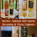 Sukkah Hill Spirits artisanal liqueurs, Besamim and Etrog, are certified Kosher, gluten-free, with no added preservatives or artificial colors or flavors.